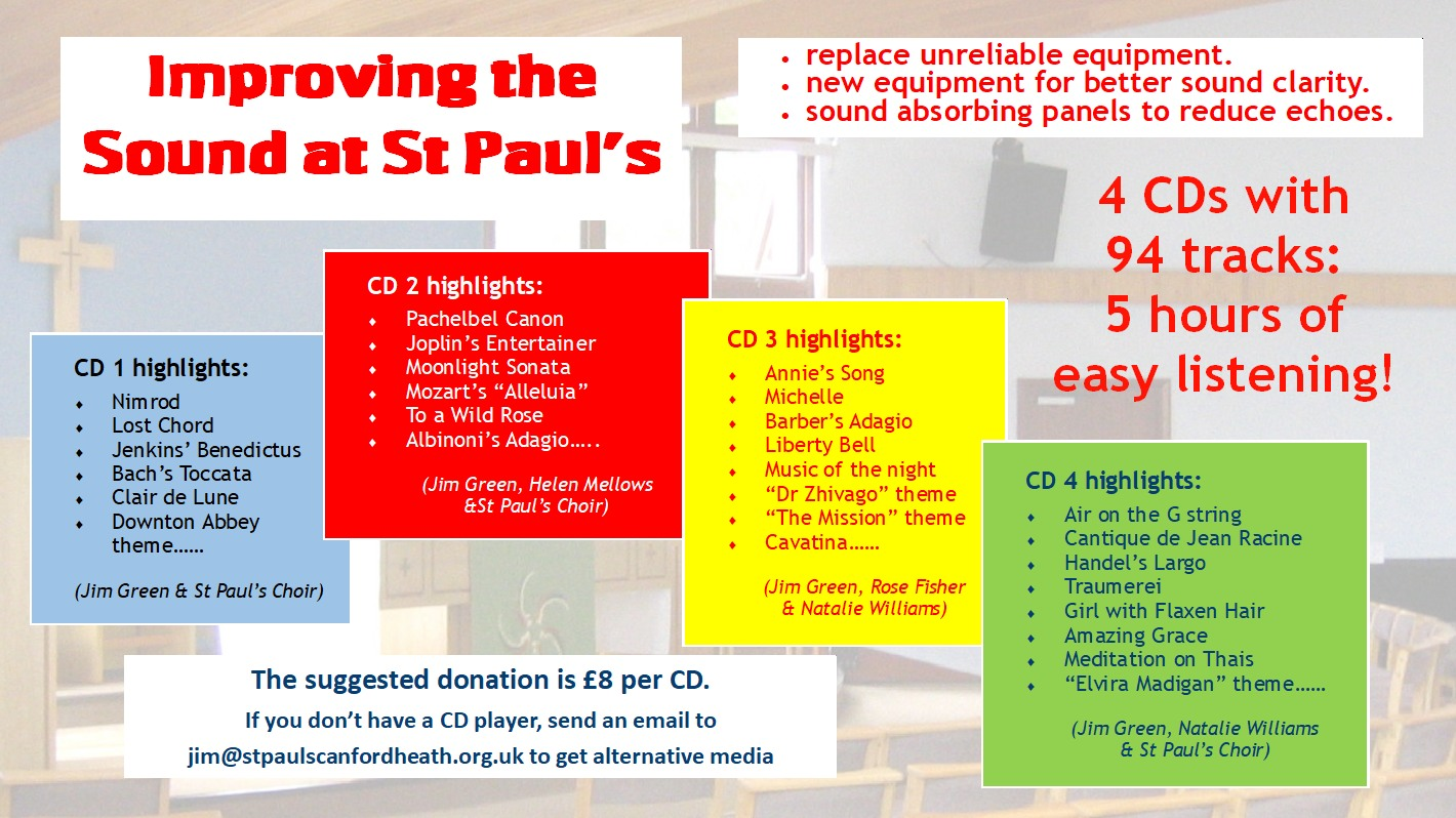 Improving the Sound in St Paul's